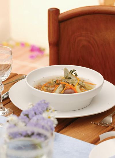 Barigoule de verduras a la provenzal