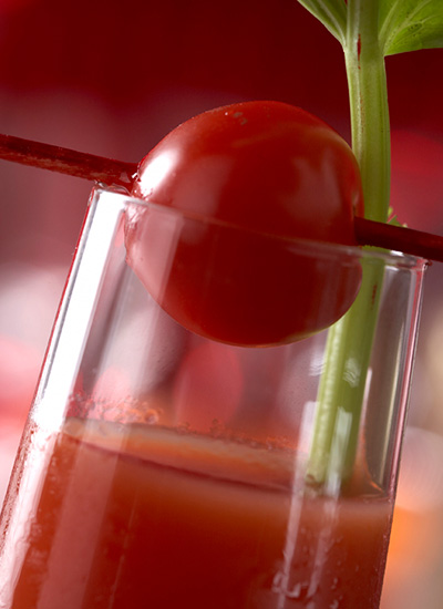 Bloody mary shots