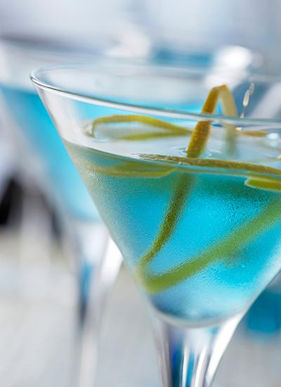 Blue martini