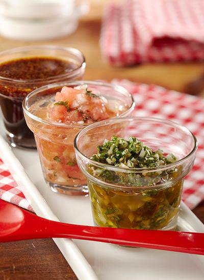 Salsas para carnes rojas