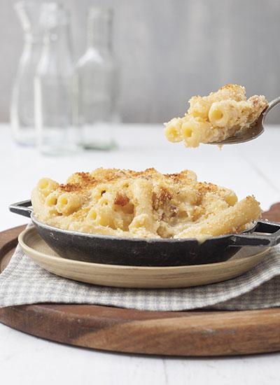 Macarrones con queso / Macaroni Cheese