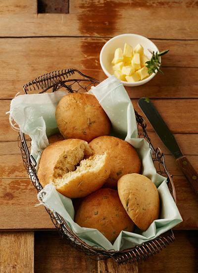 Panecillos de queso y orégano